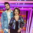 Fernanda Souza apresentou o 'Só Toca Top' na Globo