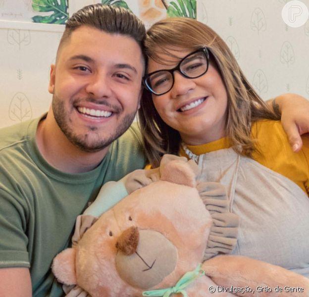 Marília Mendonça opinou sobre semelhança de Murilo Huff com filho do casal, Léo, em foto nesta terça-feira, dia 10 de março de 2020