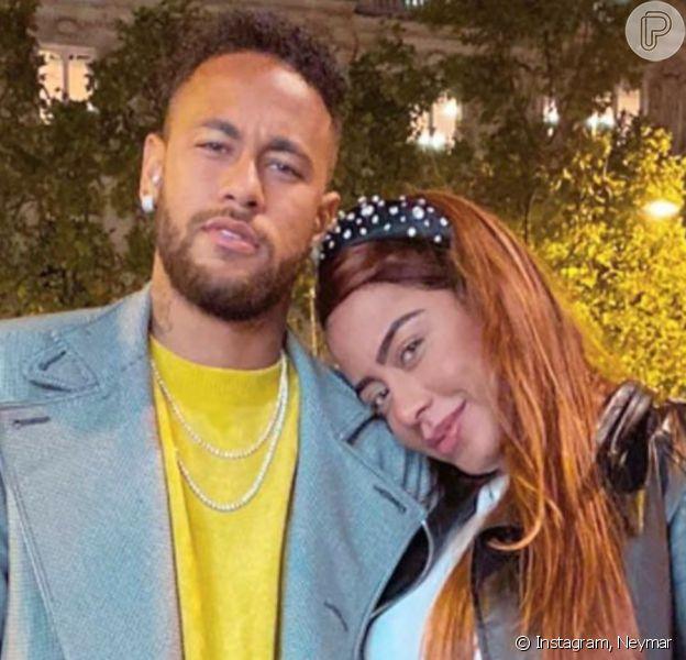 Neymar manda mensagem de aniversário da irmã, Rafaella Santos