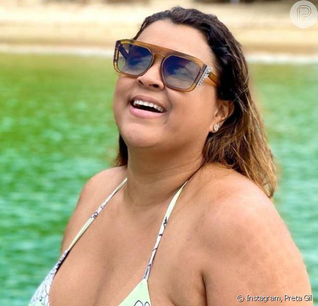 Preta Gil revela estar com coronavírus