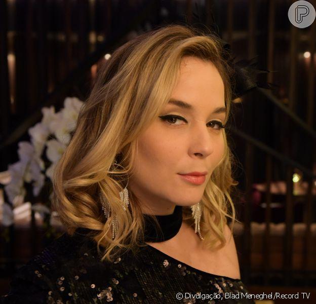 Novela 'Amor Sem Igual': Cindy (Juliana Lohmann) é baleada no capítulo de sexta-feira, 3 de abril de 2020