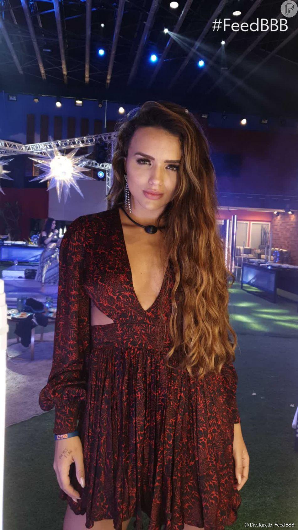 Rafa Kalimann, no 'BBB20', adora usar vestidos em dias de festa