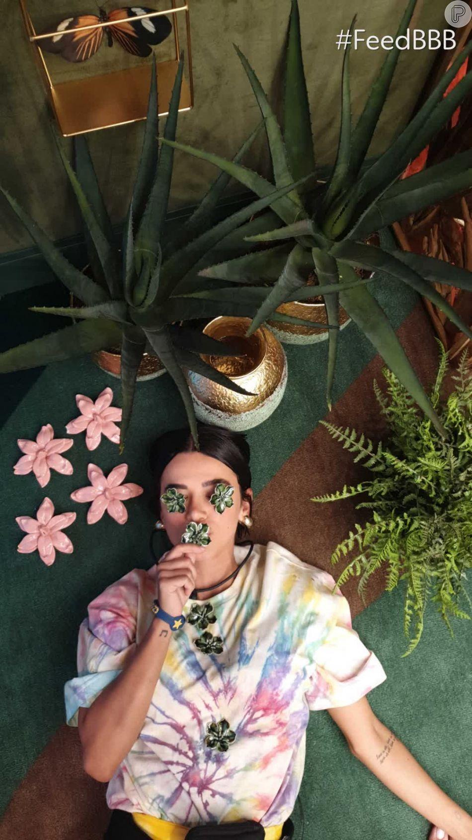 No 'Big Brother Brasil 20', Manu Gavassi tem uma mala repleta de trends como o tie-dye