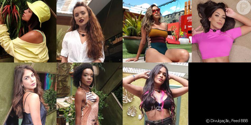 Moda 'BBB': trends de Manu Gavassi, Rafa Kalimann e mais participantes em looks. Veja matéria neste domingo, dia 12 de abril de 2020