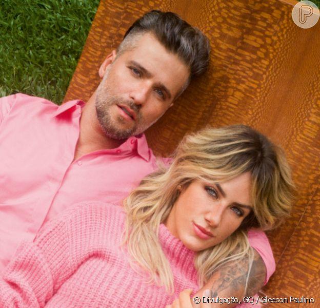 Giovanna Ewbank e Bruno Gagliasso cogitam nomes para o filho; Gael e Lion estão no topo