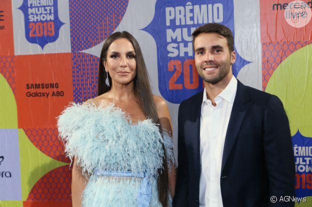Ivete Sangalo revelou ter tomado a iniciativa no começo do namoro com Daniel Cady