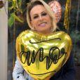Ana Maria Braga comemorou vitória contra o câncer no 'Encontro com Fátima Bernardes'