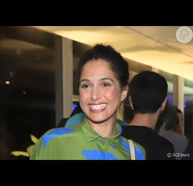 Camila Pitanga se declarou à namorada, Beatriz Coelho, com quem assumiu relação em 2019: 'Amando'