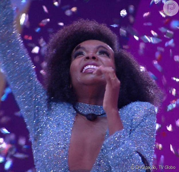 'BBB 20': Thelma ganha o reality show e famosos comemoram