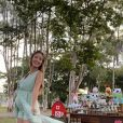 Sorocaba e Biah Rodrigues promoveram chá de bebê de Theo em fazenda
