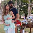 Mulher de Sorocaba, Biah Rodrigues dá à luz primeiro filho do casal, em 17 de maio de 2020