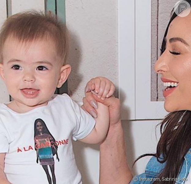 Sabrina Sato dividiu momentos da filha, Zoe, com os fãs