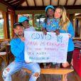 Bruno Gagliasso e Giovanna Ewbank são pais de Títi, de 6 anos, e Bless, de 5
