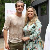Mariana Bridi exibe flagra fofo do marido, Rafael Cardoso, com filhos: 'Amores'