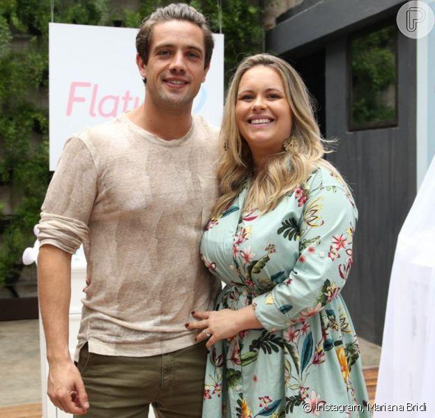 Mariana Bridi exibe flagra fofo do marido, Rafael Cardoso, com filhos em foto nesta segunda-feira, dia 25 de maio de 2020