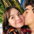 Sophia Valverde celebra nova idade de ex-namorado, Lucas Burgatti