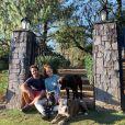 Marina Ruy Barbosa posta foto na natureza e próxima aos seus pets na quarentena
