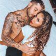 Anitta e o namorado, Gui Araújo, fizeram a coreografia de 'Desce Pro Play' juntos