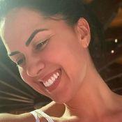 Graciele Lacerda aposta em look all white em treino e chama atenção: 'Corpão'