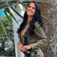 Graciele Lacerda tem passado a quarentena em uma fazenda com Zezé Di Camargo
