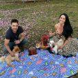 Graciele Lacerda congelou óvulos para engravidar de Zezé Di Camargo