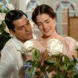 Em 'Alma Gêmea', o botânico Rafael (Eduardo Moscovis) namora com a bailarina Luana (Liliana Castro)