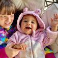 Filha mais nova de Ticiane Pinheiro está dando os primeiros passos