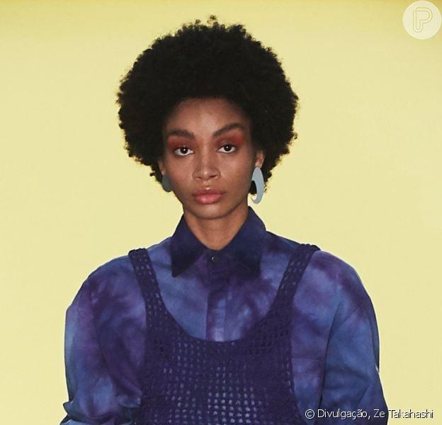 Crochê, tie dye, assimetria: as trends de moda no desfile da LED. Veja mais em matéria nesta segunda-feira, dia 24 de outubro de 2020