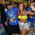 Anitta e Neymar ficaram no Carnaval de 2019