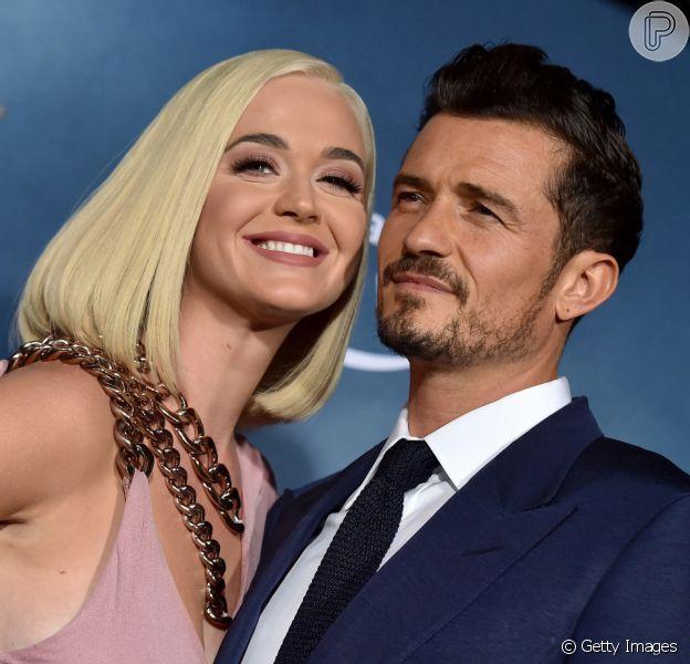 Katy Perry dá à luz primeira filha com Orlando Bloom, nesta quarta-feira, 26 de agosto de 2020