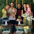 Alexandre Pato ganhou festa de aniversário intimista