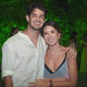 Alexandre Pato faz 31 anos e troca beijo com Rebeca Abravanel em festa. Foto!