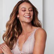 Delicadeza e conforto: Paolla Oliveira estrela ensaio de lingerie. Veja fotos!