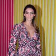 Carol Celico esteve no evento de moda São Paulo Fashion Week mas não quis comentar sobre Kaká