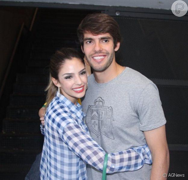Carol Celico e Kaká estão separados. Assessoria do jogador confirmou o fim do casamento nesta segunda-feira, 3 de novembro de 2014