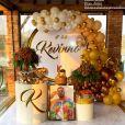 Gabriela Versiani, namorada de Kevinho, mostra decoração completa da festa de 22 anos