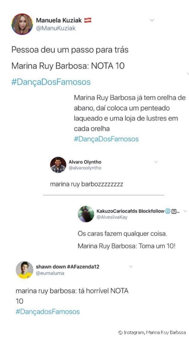 Marina Ruy Barbosa expõe críticas ao participar do 'Dança dos Famosos'
