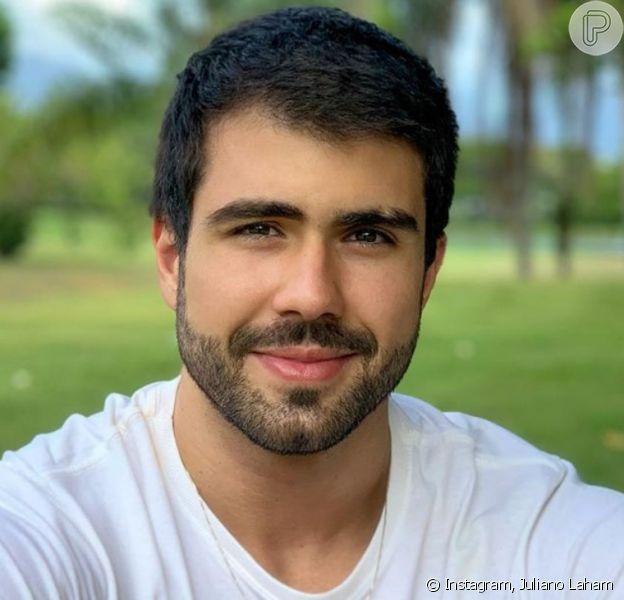 Juliano Laham é o último integrante do time dos homens no 'Dança dos Famosos 2020'