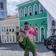 Anitta grava clipe no Pelourinho, em Salvador, Bahia