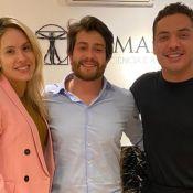 Wesley Safadão faz harmonização facial e Thyane Dantas entrega: 'Mais vaidoso'