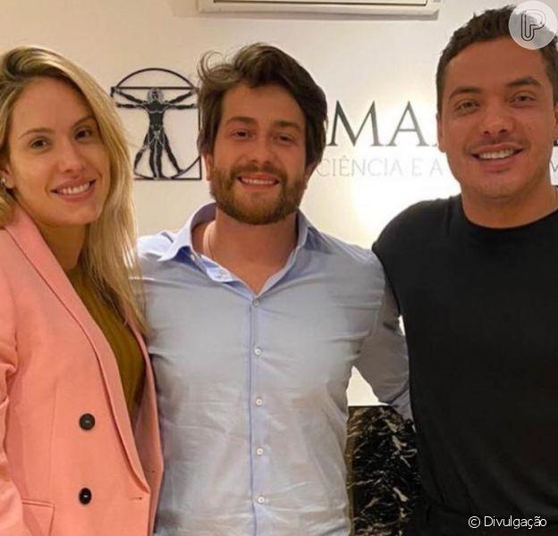 Wesley Safadão e mulher, Thyane Dantas, se rendem à harmonização facial