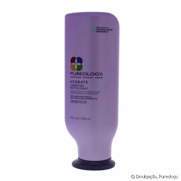 Regina King aposta no condicionador Pureology Hydrate (R$ 249,90)