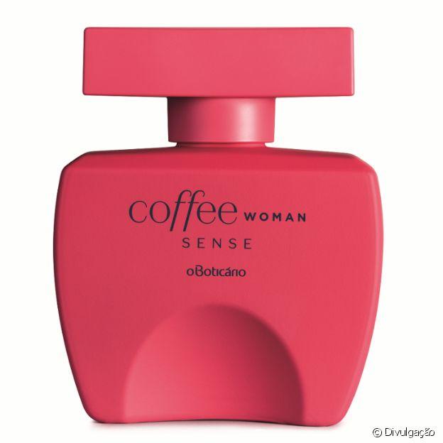 A linha Coffee Sense, de O Boticário, tem ativador de desejo