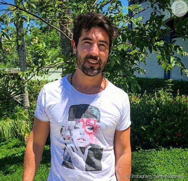 Sandro Pedroso passou mal na academia e foi para hospital