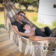 Sandro Pedroso é pai de Noah, de 4 anos, fruto do casamento com Jéssica Costa