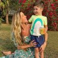 Aline Gotschalg fala sobre a criação do filho, Lucca, de 4 anos