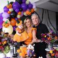 Vicky, filha de Ana Paula Siebert e Roberto Justus, ganhou uma festa de Halloween nos seus 5 meses