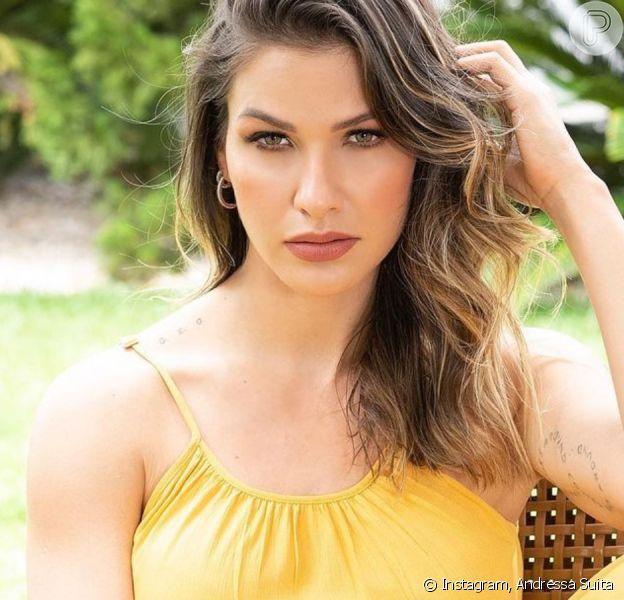 Veja 1º ensaio de Andressa Suita após fim do casamento com Gusttavo Lima!