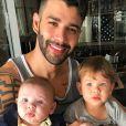 Gusttavo Lima já visitou os filhos após separação de Andressa Suita