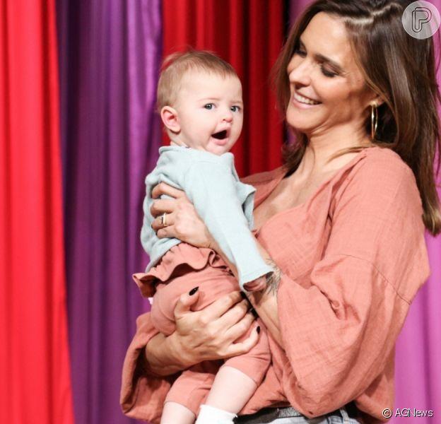 Fernanda Lima celebra 1° aniversário da filha, Maria Manoela. Confira fotos postadas pela artista